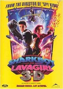 As Aventuras de Sharkboy e Lavagirl em 3-D - Poster / Capa / Cartaz - Oficial 4