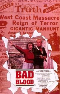 Bad Blood - Poster / Capa / Cartaz - Oficial 1