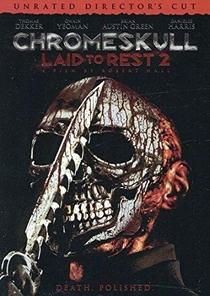 Chromeskull 2: Não Descanse em Paz - Poster / Capa / Cartaz - Oficial 4