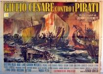 Júlio César contra os piratas - Poster / Capa / Cartaz - Oficial 1
