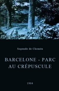 Barcelona - Parque ao crepúsculo - Poster / Capa / Cartaz - Oficial 1