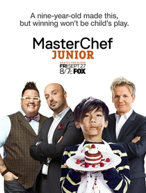 MasterChef Junior (US) (1ª Temporada) - Poster / Capa / Cartaz - Oficial 1