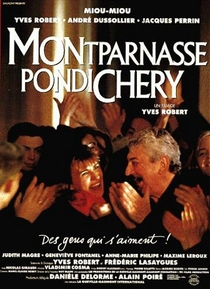 Montparnasse-Pondichéry - Poster / Capa / Cartaz - Oficial 1