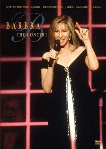 Barbra: The Concert - Poster / Capa / Cartaz - Oficial 1
