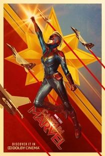 Capitã Marvel - Poster / Capa / Cartaz - Oficial 7