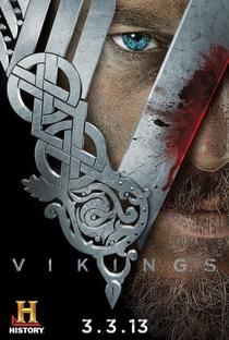 Vikings (1ª Temporada) - Poster / Capa / Cartaz - Oficial 1