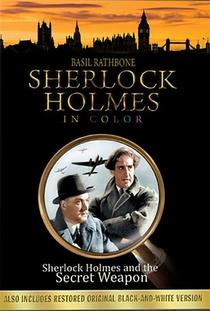 Sherlock Holmes e a Arma Secreta - Poster / Capa / Cartaz - Oficial 9