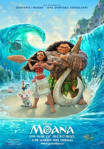 Moana: Um Mar de Aventuras - Poster / Capa / Cartaz - Oficial 2
