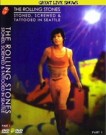 Rolling Stones - Stoned, Screwed & Tattooed in Seattle - Poster / Capa / Cartaz - Oficial 1