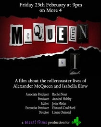McQueen and I - Poster / Capa / Cartaz - Oficial 1