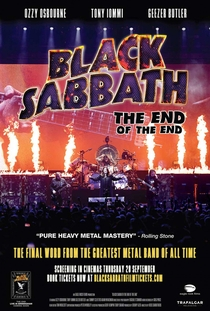 Black Sabbath: O Fim do Fim - Poster / Capa / Cartaz - Oficial 1
