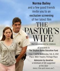 A Mulher do Pastor - Poster / Capa / Cartaz - Oficial 1