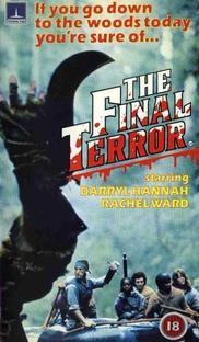 The Final Terror - Poster / Capa / Cartaz - Oficial 3
