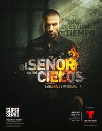El Señor de los Cielos (3ª Temporada) - Poster / Capa / Cartaz - Oficial 1