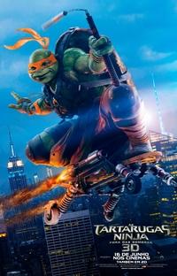 As Tartarugas Ninja: Fora das Sombras - Poster / Capa / Cartaz - Oficial 6