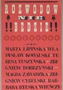 Rozwodów Nie Bedzie - Poster / Capa / Cartaz - Oficial 1