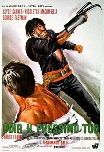 A Lei do Ódio e da Vingança - Poster / Capa / Cartaz - Oficial 1