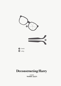 Desconstruindo Harry - Poster / Capa / Cartaz - Oficial 2