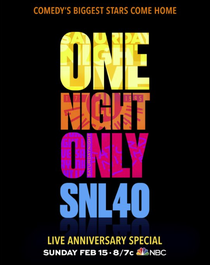 Saturday Night Live 40th Anniversary Special - Poster / Capa / Cartaz - Oficial 1
