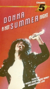 Donna Summer - A Hot Summer Night - Poster / Capa / Cartaz - Oficial 1