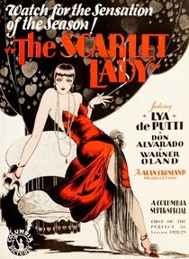 A Dama Escarlate - Poster / Capa / Cartaz - Oficial 1