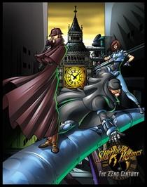 Sherlock Holmes no Século 22 (2ª Temporada) - Poster / Capa / Cartaz - Oficial 1