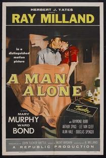 Um Homem Solitário - Poster / Capa / Cartaz - Oficial 1