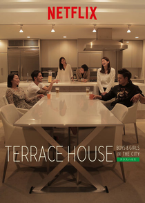 Terrace House - Boys & Girls in The City - Poster / Capa / Cartaz - Oficial 1