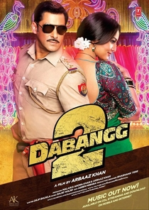Dabangg 2 - Poster / Capa / Cartaz - Oficial 2