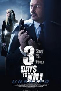 3 Dias Para Matar - Poster / Capa / Cartaz - Oficial 5