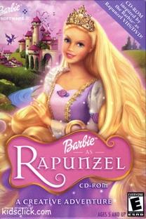 Barbie - A Rapunzel - Poster / Capa / Cartaz - Oficial 2