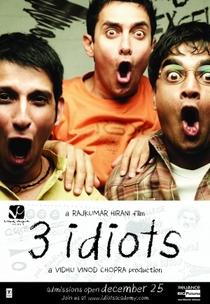 3 Idiotas - Poster / Capa / Cartaz - Oficial 2
