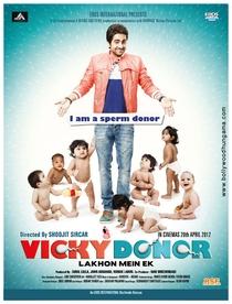 Vicky Donor - Poster / Capa / Cartaz - Oficial 1