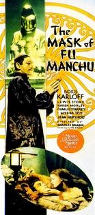 A Máscara de Fu Manchu - Poster / Capa / Cartaz - Oficial 1