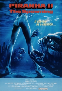 Piranha 2 - Assassinas Voadoras - Poster / Capa / Cartaz - Oficial 5