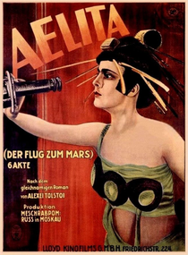 Aelita - A Rainha de Marte - Poster / Capa / Cartaz - Oficial 1