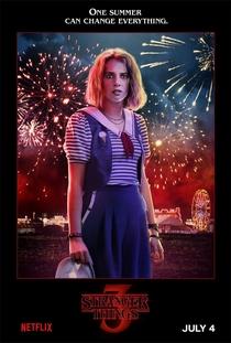 Stranger Things (3ª Temporada) - Poster / Capa / Cartaz - Oficial 8