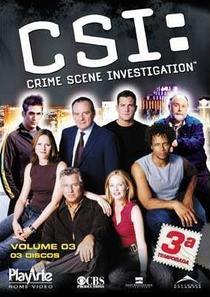 CSI: Investigação Criminal (3ª Temporada) - Poster / Capa / Cartaz - Oficial 1