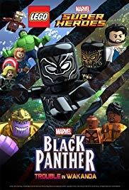 LEGO Marvel Super Heróis: Pantera Negra - Problema em Wakanda - Poster / Capa / Cartaz - Oficial 1