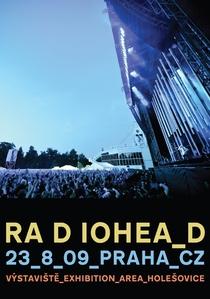 Radiohead - Live in Praha - Poster / Capa / Cartaz - Oficial 1