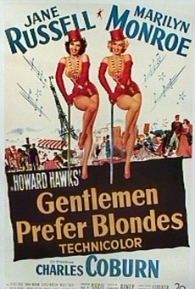 Os Homens Preferem as Loiras - Poster / Capa / Cartaz - Oficial 1