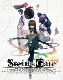 Steins;Gate - Poster / Capa / Cartaz - Oficial 1
