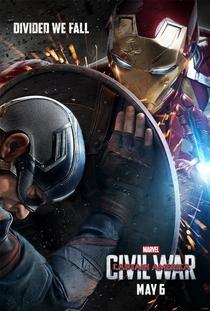 Capitão América: Guerra Civil - Poster / Capa / Cartaz - Oficial 2