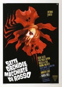 Sete Orquídeas Manchadas de Sangue - Poster / Capa / Cartaz - Oficial 1