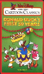 Donald Duck's - First 50 Years - Poster / Capa / Cartaz - Oficial 1