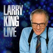 Larry King Live - Talk-Show - 1985/2010. - Poster / Capa / Cartaz - Oficial 1