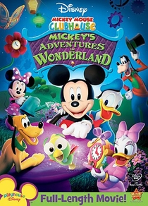 A Casa do Mickey Mouse - As Aventuras do Mickey no País das Maravilhas - Poster / Capa / Cartaz - Oficial 2