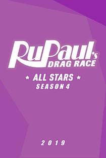 RuPaul's Drag Race: All Stars (4ª Temporada) - Poster / Capa / Cartaz - Oficial 2