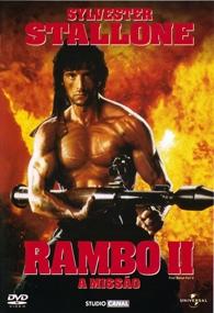 Rambo II - A Missão - Poster / Capa / Cartaz - Oficial 1