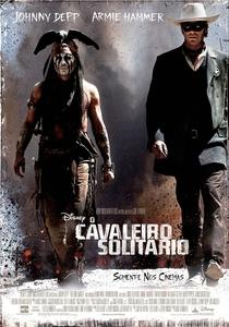 O Cavaleiro Solitário - Poster / Capa / Cartaz - Oficial 1